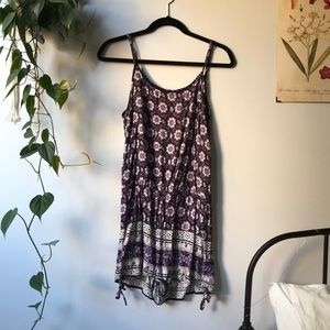 Garage Purple Romper